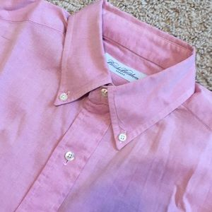 Brooks Brothers Makers pink dress shirt 15-34